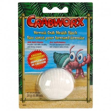 Bloc santé Crabworx pour bernard-l'ermite25g (0,88oz)