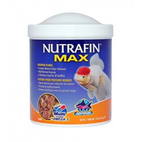 Floc. NutrMax pr poissons rouges, 215g-V