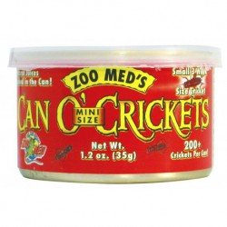 Can O' Crickets Mini Size (200 / can)1.2 OZ
