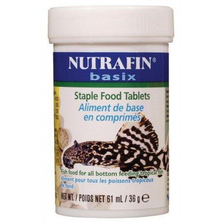 Aliment Nutrafin en comprimés,36Gcomp-V