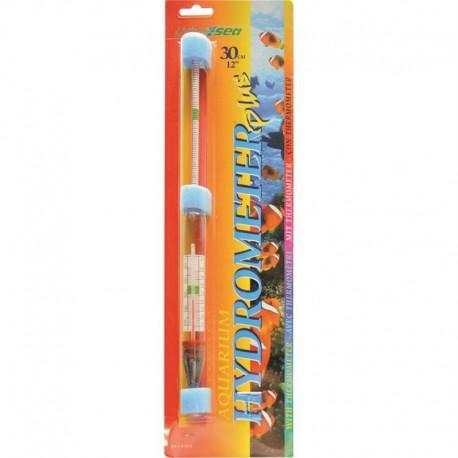 Aréomètre-thermomètre Hagen, grand, 30 cm