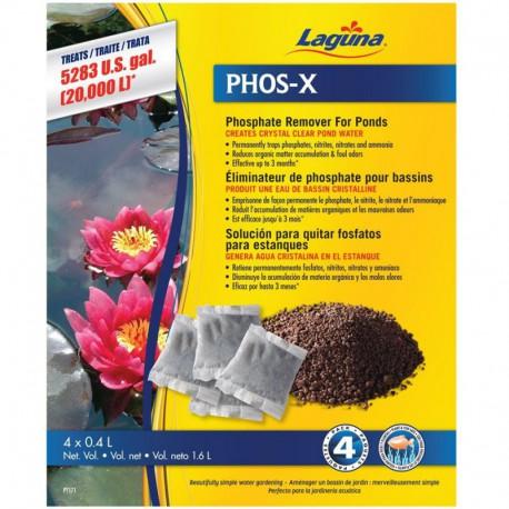Trait. eau Phos-X LG 5000 L, paq. 2-V LAGUNA Accessoires De Bassin