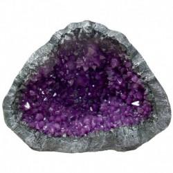Exotic Environments Purple Geode Stone, LargeBlue Ribbon EE