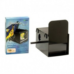 Budgie Breeding Nest-Box,Black