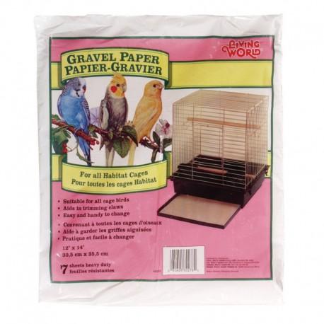 Papier Gravier LW,p. rect. 30cmX35.5cm-V LIVING WORLD Graviers et Papiers