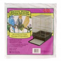 LW Gravel Paper,Lrg,Rect. 40cm x 39 cm-V