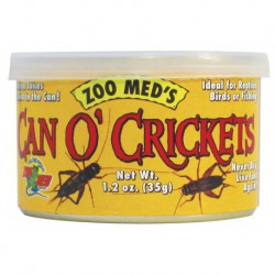 Can O' Crickets (60 crickets / can)1.2 OZ