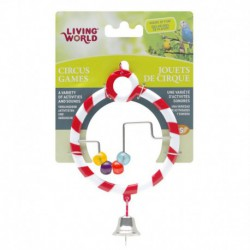LW Circus Toy, Abacus, Red