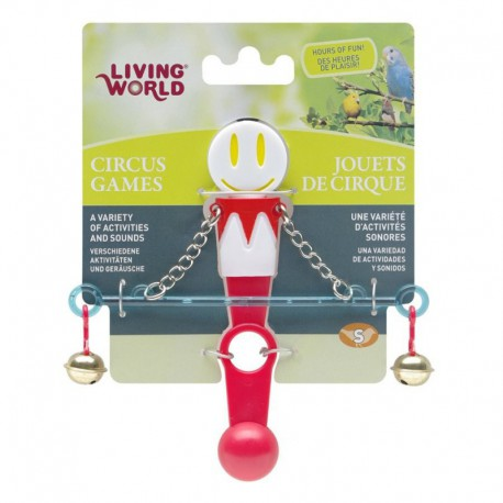 Jouet de cirque Living World avec balance pour B, blanc et r