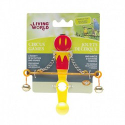 LW Circus Toy, Balance, Red/Yellow