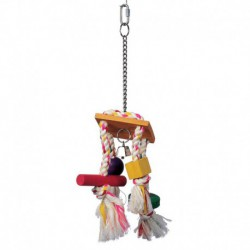 LW Junglewood Rope Chime W/Bell-V