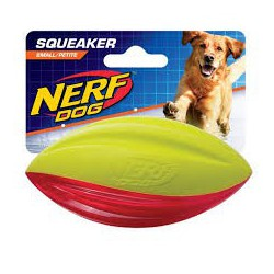 Nerf Dog Tuff Foam Football Sm (3232BG)