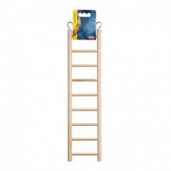 LW Wooden Ladder W/9 Steps-V