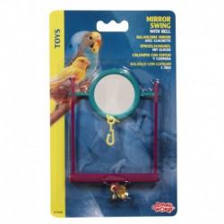 LW Plastic Mirror Swing W/Bell-V