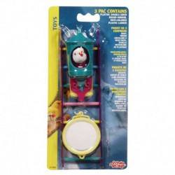 LW Bird 3 Toys Assortment2,Value Pack-V