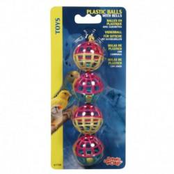 LW Plastic 4 Balls W/Bell-V