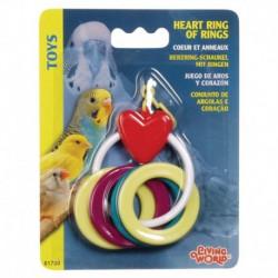 LW Heart Ring Of Rings-V