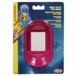 L.W. Oval Bird Bath W/Mirror-V