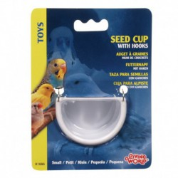 LW Seed Cup W/Metal Hook Medium-V