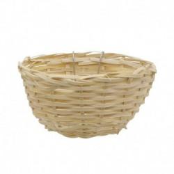 LW Bird Nest, Bamboo, Round
