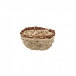 LW Bird Nest, Maize Peel, Round