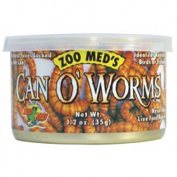 Can O' Superworms1.2 OZ