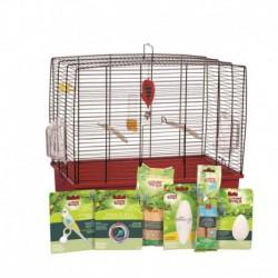 Cage équi. de luxe LW p/perr. ondulées