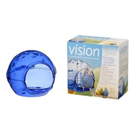 Vision, bain pour oiseau-V