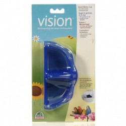 Vision II Blue Food/Water Dish-V