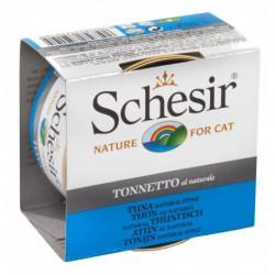 SCHESIR CAT TUNA NATURAL 85g