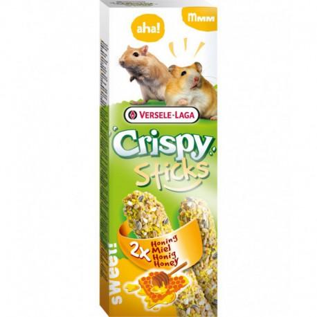 VL - CRISPY STICKS Hamster-Gerbille Miel 2x 55g