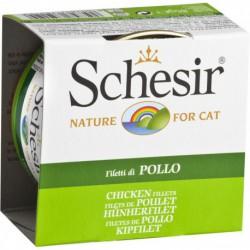 SCHESIR CAT CHICKEN FILLETS 85g