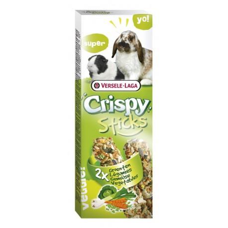 VL - CRISPY STICKS Lapin-Cochon dinde Légumes 2x 55g VERSELE-LAGA Friandises