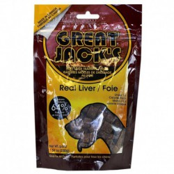 GREAT JACK S LIVER GRAIN FREE 198G