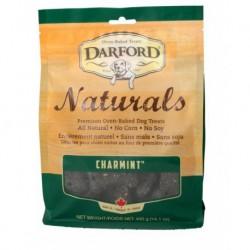DARFORD CHIEN NATURALS MENTHE/CHARBON 400GR