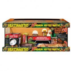 ReptiHabitat Terrarium (Bearded Dragon Kit) 20/plt20 Gal