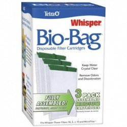 WHISPER Bio-Bag Med 3 pack