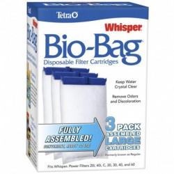 WHISPER Bio-Bag Lge 3 pack