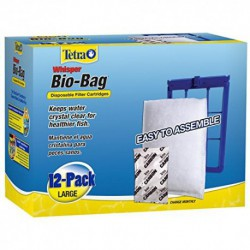 WHISPER Bio-Bag Lge 12 pack
