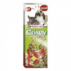 VL - CRISPY STICKS Lapin-Chinchilla Fines Herbes 2x 55g VERSELE-LAGA Friandises