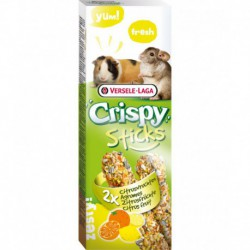 VL CRISPY STICKS Guinea pigChinchilla Citrus fruit 2x 55g