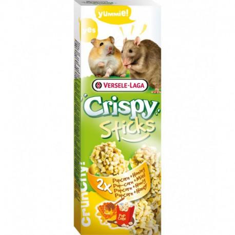 VL CRISPY STICKS HamsterRat Popcorn & Miel 2x 55g