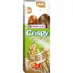 VL - CRISPY STICKS Rat-Souris Popcorn & noix 2x 55g VERSELE-LAGA Friandises
