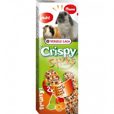 VL - CRISPY STICKS Lapin-Cochon dinde Fruit 2x 55g VERSELE-LAGA Friandises