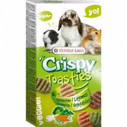 VL CRISPY TOASTIES VEGETABLES 150g