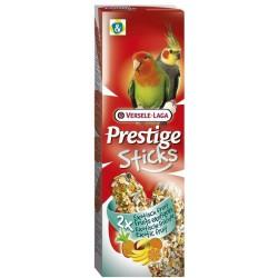 VL - PRESTIGE STICKS Grandes perruches Fruit exotique 2x 70g VERSELE-LAGA Friandises