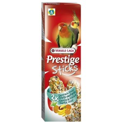 VL  PRESTIGE STICKS Grandes perruches Fruit exotique 2x 70g
