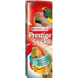 VL - PRESTIGE STICKS Pinsons Fruit exotique 2x 30g VERSELE-LAGA Friandises