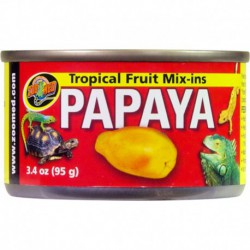 """Tropical Fruit """"Mix-ins"""" Papaya4 OZ"""