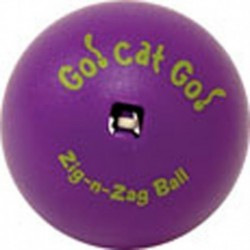OURPET TOY CAT ZIG ZAG BALL